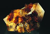 Valzergues amber fluorite is world known...